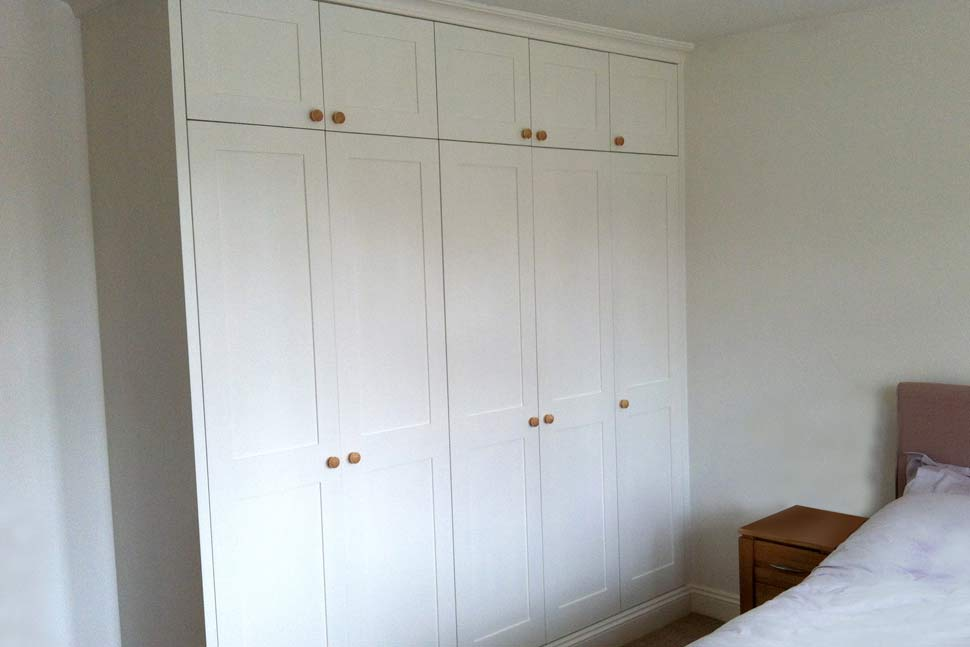 Built in cabinets in