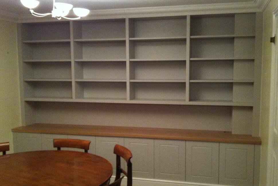 Browns Woodworking :: Shelving for Bedrooms, Offices, Homes, Storage ...